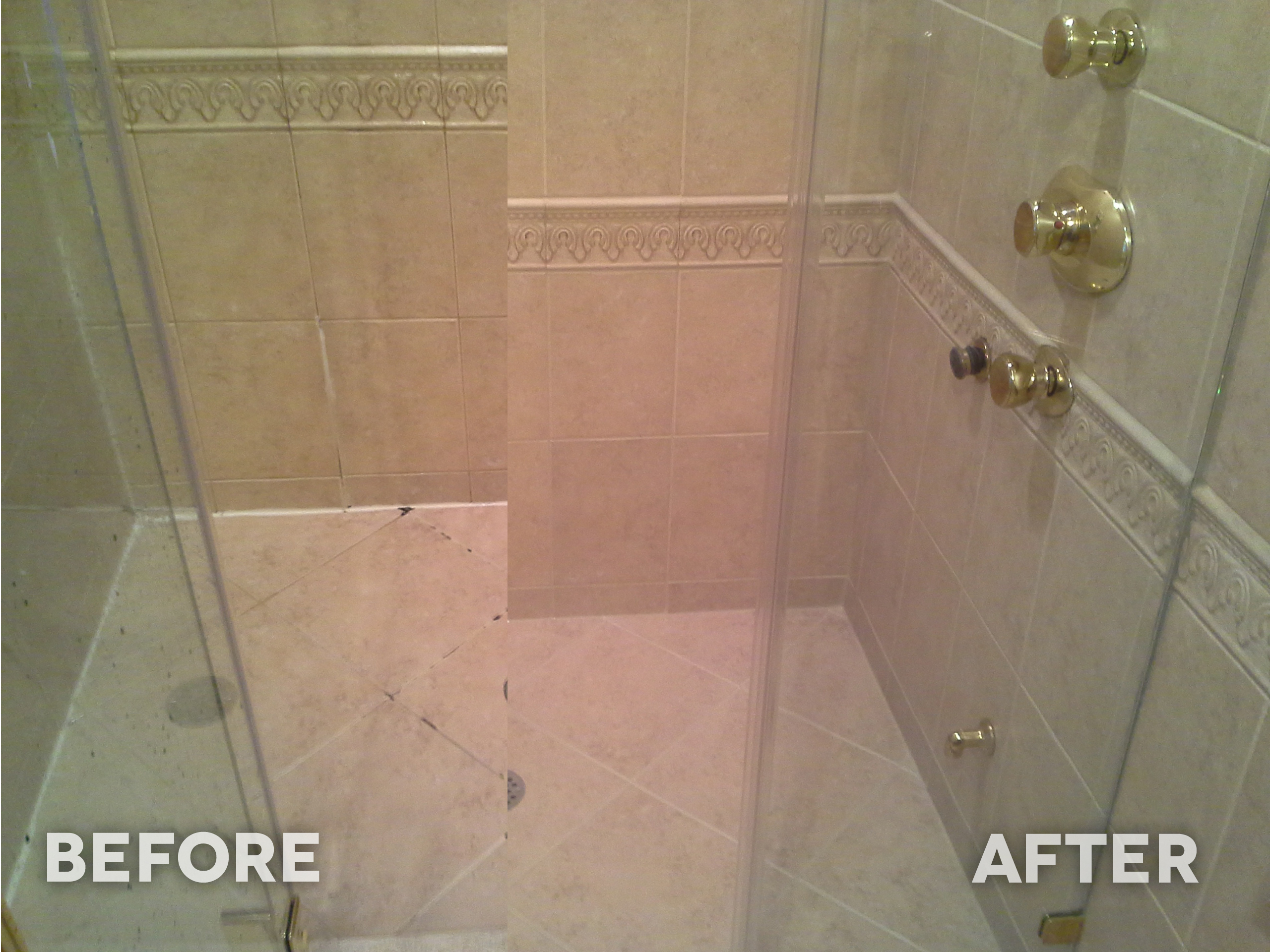 how to clean tile grout in your shower