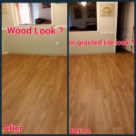 Can Wood Look Tile Really Look Like Wood ? The  Importance of Grout Color,