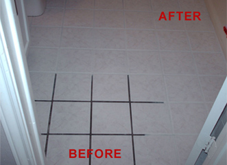 Changing Grout Color \