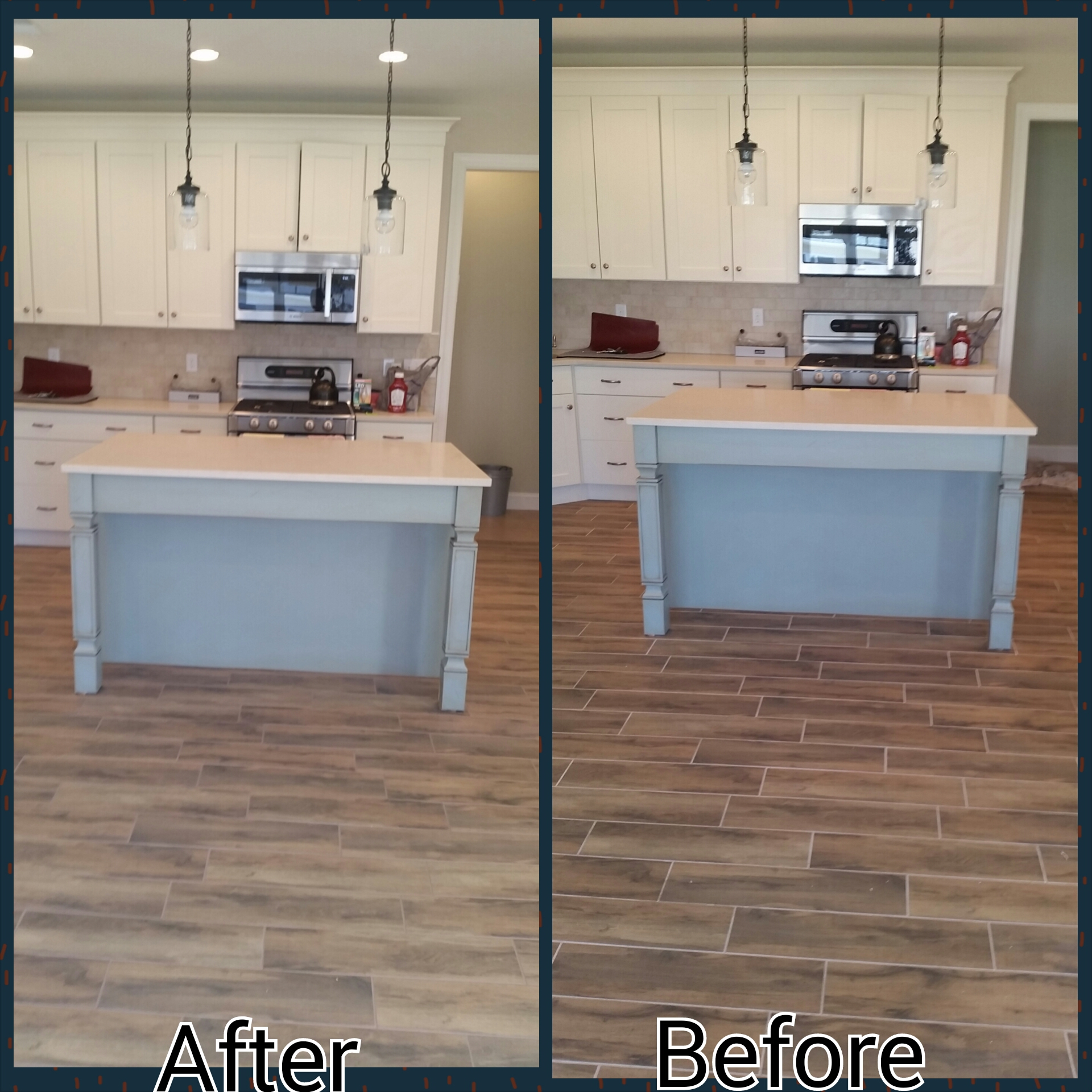At Grout Works Wood Look Tile 1 We Have A Cutting Edge Solution That Can Change The Color