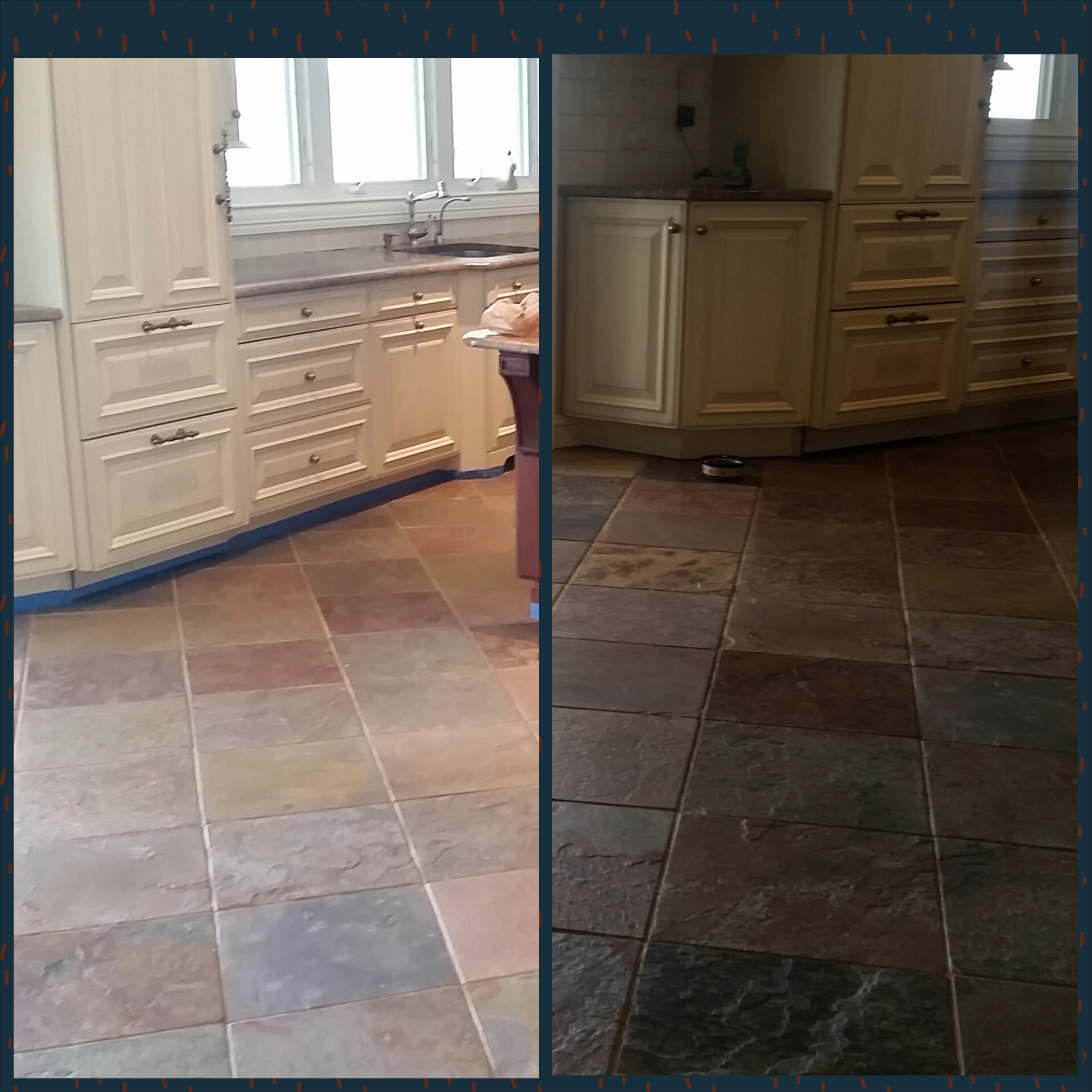 Fair Haven NJ Slate Restoration Cleaning Sealing & Color